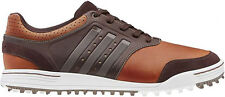 Adidas Adicross III Spikeless Golf Shoes 2014 Tan Brown Q46651 Mens New