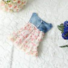 Baby Girls Slim Denim Jeans One-piece Dress Kids Beach/Summer/Princess Skirt KLL