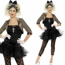 80s Wild Child Pop Icon Fancy Dress Costume – Ladies 1980s Madonna Style Outfit