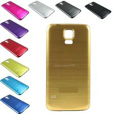 Brushed Aluminum Metal Battery Cover Door Case For Samsung Galaxy S 5 V i9600 B