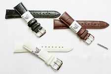 Taurus Genuine Leather Croco Grain Watch Band 12mm 14mm 16mm 18mm 20mm 22mm 24mm