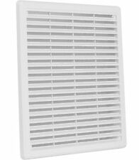 Air Vent Grille Cover WHITE Ventilation Grill Covers High Quality ASA Plastic