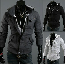 New Fashion Men's Top Designed Slim Fit Hoodie Cardigan Jacket Coats
