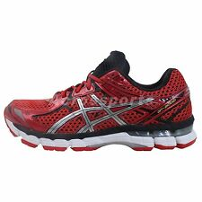 Asics GT-2000 2 New York 2 SW Super Wide Red Silver 2014 New Mens Running Shoes