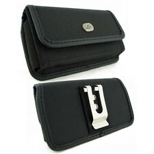 Sideways Heavy Duty Canvas Clip Case for Cell Phones FITS with MOPHIE PACK ON IT