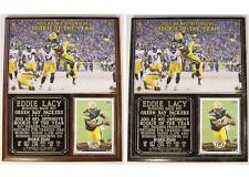 Eddie Lacy #27 Rookie of the Year 2013  Packers Photo Plaque Topps Rookie Card