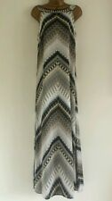 NEW WALLIS Aztec Print Embellished Neck Occasion Maxi Dress Holiday Beach 10-16