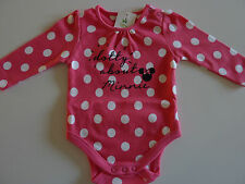 DISNEY Gorgeous Little Girls Minnie Mouse Pink Romper Suit NWT