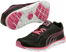 Puma Womens FAAS Lite Mesh Golf Shoes Black/ Fluo Pink 186848-06 New