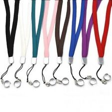 lot Lanyard Necklace with RING for EGO E Cigarette Ecig Sling Color USA SELLER
