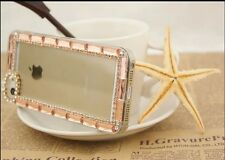 E050 New Fashion Bling Crystal Hard Back Cover Case For iPhone 4G/5G/5C Case UK