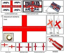 England St Georges Cross Car Flags Bunting Wigs Rugby Football Euro World Cup