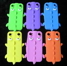 1 x 3D Crocodile Silicon Back Case Skin Cover for iPhone 4 4S