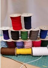 POLYESTER CORD 4mm X 10 METRES HUGE CHOICE OF COLOURS FREE POSTAGE