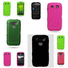 Slim Hard Rubber Snap On Phone Case for Blackberry TORCH 9860 9850