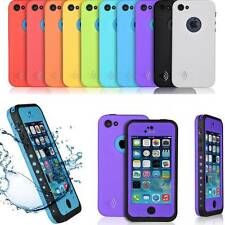 lIFE Waterproof PC Dirt Snow Proof Durable Case Cover For iPhone 5C w/Matte Film