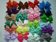 Grosgrain ribbon hair accessories hair bows with clip (Buy 4 get next 1 Free)