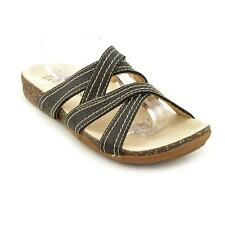 Timberland Earthkeepers Bare Step Slide Womens Leather Slides Sandals Shoes