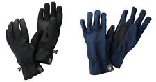 COLUMBIA MEN'S ASCENDER SOFTSHELL GLOVES BLACK COLLEGIATE NAVY LARGE NEW NWT