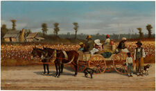 WILLIAM AIKEN WALKER Cotton Pickers southern black FAMILY labour carriage NEW!