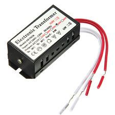 110/220V-12V Halogen LED Lamp Electronic Transformer Power Supply Driver Adapter