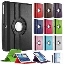 360 Rotating Leather Stand Case Cover For Samsung Galaxy Tab 3 10.1 P5200 P5220