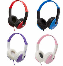 Groov-e Lightweight DJ Style Over Head Headphones for Kids Children TAB iPod MP3