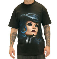 SULLEN CLOTHING RICH PINEDA CIRCUS GIRL  CLAW TATTOO SCENE INK SKULL T SHIRT