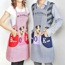 5 COLOR CUTE DOG WATERPROOF APRONS BIB OIL PREVENTION FOR KITCHEN  FASHION CLOTH