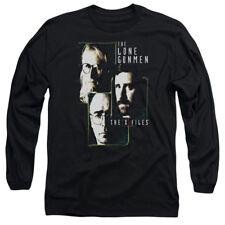 The X-Files The Lone Gunmen Licensed Adult Long Sleeve Shirt S-XXL