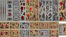 Hot Sexy Stick-on Body Art Removable Temporary Tattoo Stickers buy 2 get 1 free