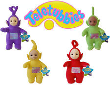 "NEW OFFICIAL 9"" TELETUBBIES TINKY WINKY DIPSY LA LA PO PLUSH SOFT TOYS"