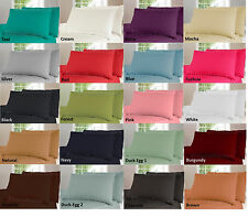 Non Iron Fitted, Flat Sheet or Valance Sheet Or Pillow Cases 180 Thread Count