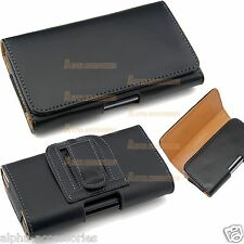 Belt Clip Loop Hip Holster Leather Flip Pouch Case Cover For Various Phone's HTC