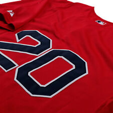 KEVIN YOUKILIS BOSTON RED SOX MAJESTIC RED JERSEY NWT M/L/XL/2XL