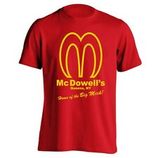 MCDOWELLS funny cool retro comedy movie big mick awesome new MENS T-Shirt RED