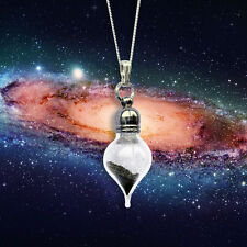 REAL Meteorite Stardust Necklace - Sterling Silver