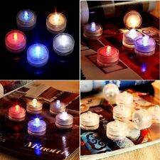 12 LED Submersible Waterproof Multi-color Wedding Decoration Tea Battery light
