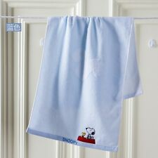 Snoopy cotton towels cute cartoon super soft cotton washcloth towel SN1017WH