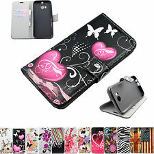 Stand Flip Wallet Leather Cell Phone Skin Case Accessories For HTC ONE 2 2014 M8