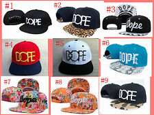 HOT! NEW DOPE Floral Hip Hop Adjustable Snapback Style Baseball Hat/cap+gift