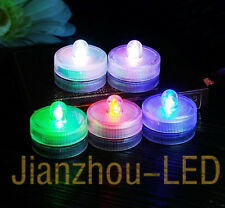 HOT 12PCS LED Electronic Submersible Wedding Tea Light Christmas Party Bar Light