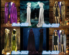 Hot Gothic Hooded Cloak Gothic Wicca Robe Medieval Witchcraft Larp Cape dress