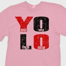 YOLO You Only Live Once T-shirt Drake Motto cool The Weeknd Tee Shirt