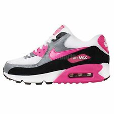 Nike Wmns Air Max 90 Essential White Pink 2014 Womens NSW Casual Running Shoes 1