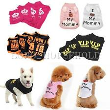 Dog T Shirt Pet Clothes Apparel Vest Costumes Summer Puppy Printed Coat Cat Gift