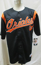 Baltimore Orioles Embroidered Jersey Men's Black
