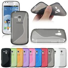 COQUE HOUSSE GEL SILICONE POUR SAMSUNG S7560 GALAXY TREND / S7562 GALAXY S DUOS