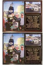 John Force 16-Time NHRA Funny Car Champion Castrol Brute Force Photo Plaque