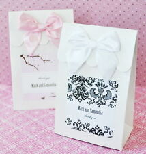 108 Personalized Themed Wedding Bridal Shower Candy Buffet Favor Bag Box Boxes